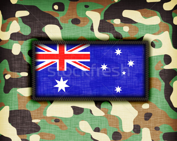 Amy camouflage uniform, Australia Stock photo © michaklootwijk