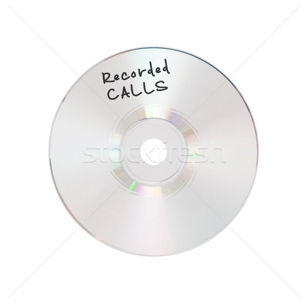 компакт-диск изолированный белый безопасности группа промышленности Сток-фото © michaklootwijk