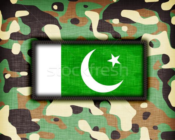 Amy camouflage uniform, Pakistan Stock photo © michaklootwijk