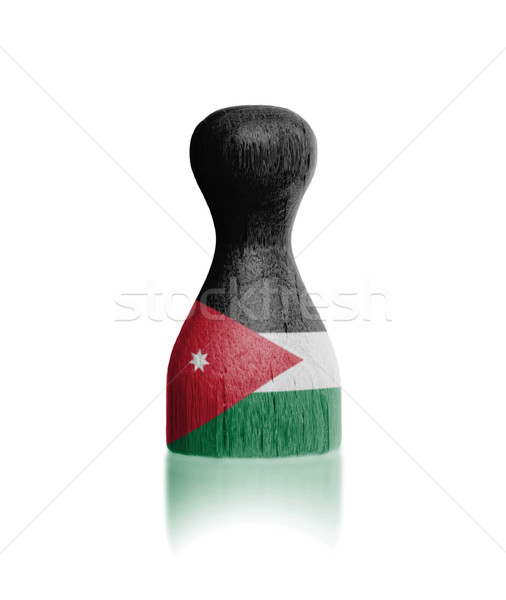 Bandeira pintura Jordânia pintar Foto stock © michaklootwijk