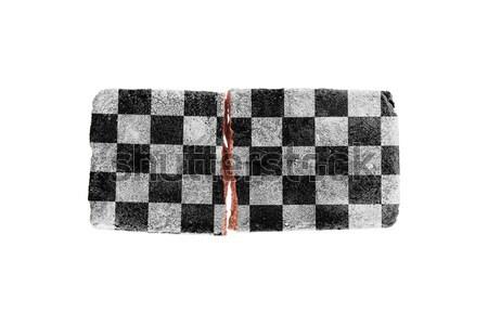 Rough broken brick, isolated on white background Stock photo © michaklootwijk