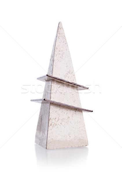 Modern cserépedények izolált fehér ajándék árnyék Stock fotó © michaklootwijk