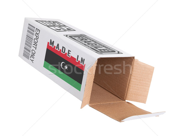 Eksport produktu Libia papieru polu Zdjęcia stock © michaklootwijk