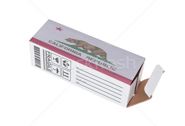 Eksport produktu California papieru polu Zdjęcia stock © michaklootwijk