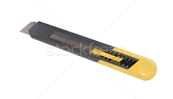 Utilidade faca isolado branco escritório papel Foto stock © michaklootwijk
