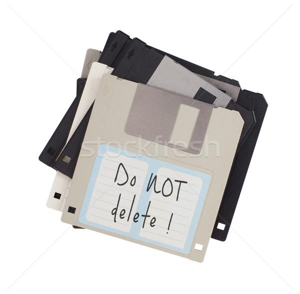 Lemez adattárolás támogatás izolált fehér nem Stock fotó © michaklootwijk