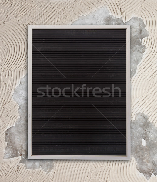 Very old menu board Stock photo © michaklootwijk