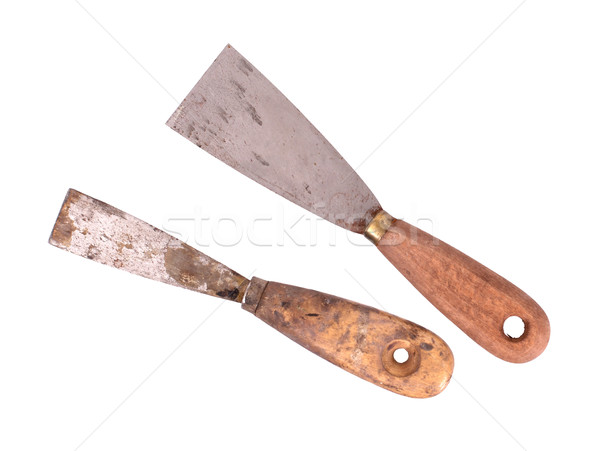 Old dirty and rusty scraper  Stock photo © michaklootwijk