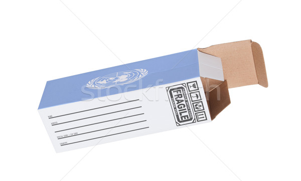 Concept of export - Product of United Nations Stock photo © michaklootwijk