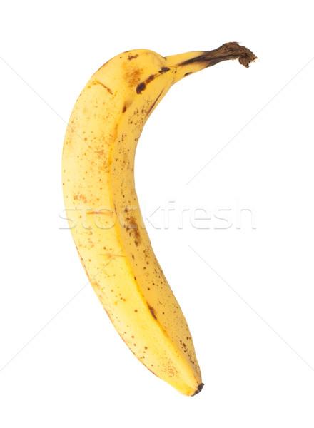 Over ripe banana, isolated Stock photo © michaklootwijk