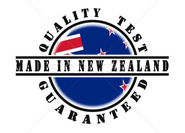 Quality test guaranteed stamp  Stock photo © michaklootwijk