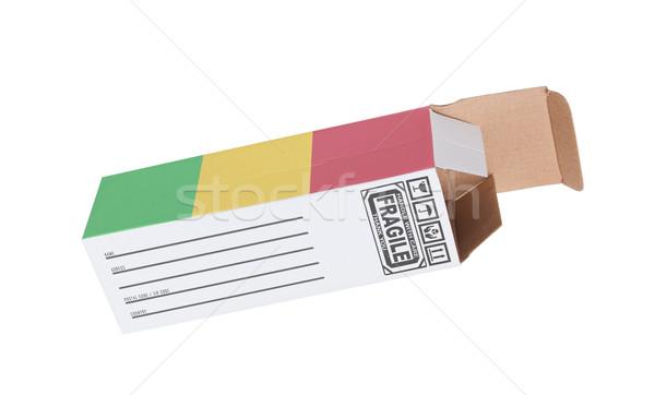 экспорт продукт Мали бумаги окна Сток-фото © michaklootwijk