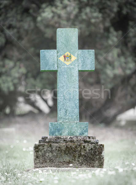 Gravestone in the cemetery - Delaware Stock photo © michaklootwijk