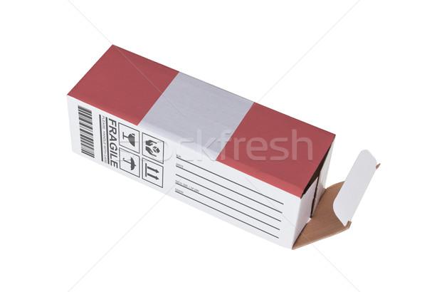 Eksport produktu Peru papieru polu Zdjęcia stock © michaklootwijk