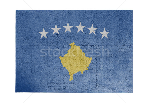 Large jigsaw puzzle of 1000 pieces - Kosovo Stock photo © michaklootwijk