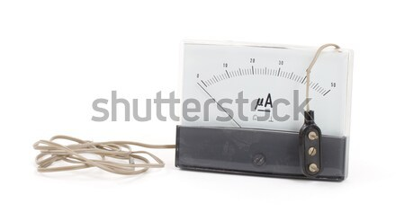 Old meter isolated Stock photo © michaklootwijk
