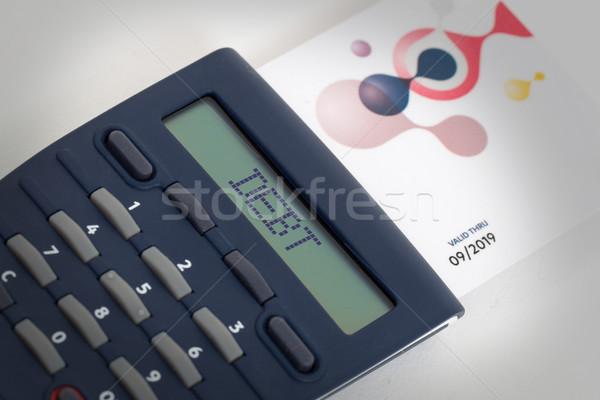 Foto stock: Tarjeta · lector · lectura · bancario · casa