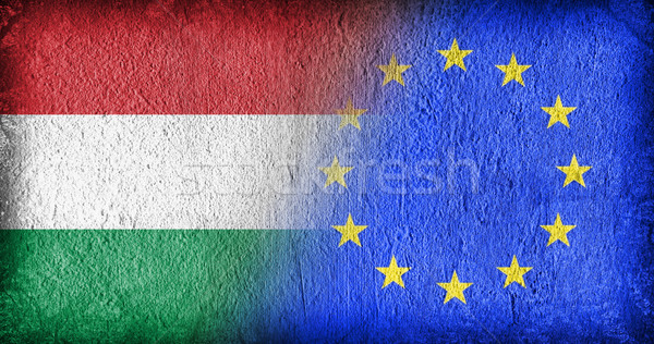 Hungary and the EU Stock photo © michaklootwijk