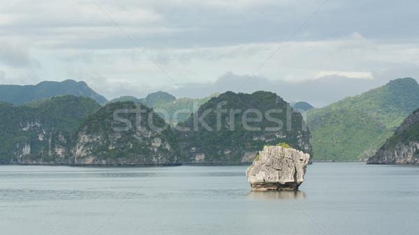 Kalksteen rotsen Vietnam een zeven wereld Stockfoto © michaklootwijk