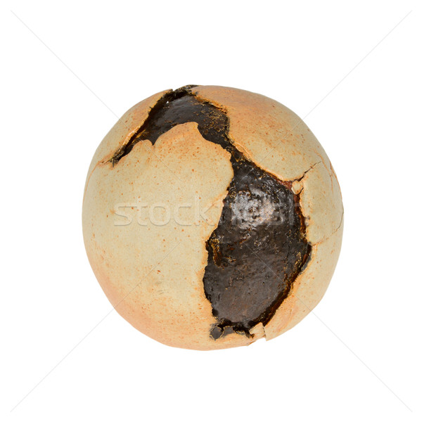 Old cracked clay pottery isolated Stock photo © michaklootwijk