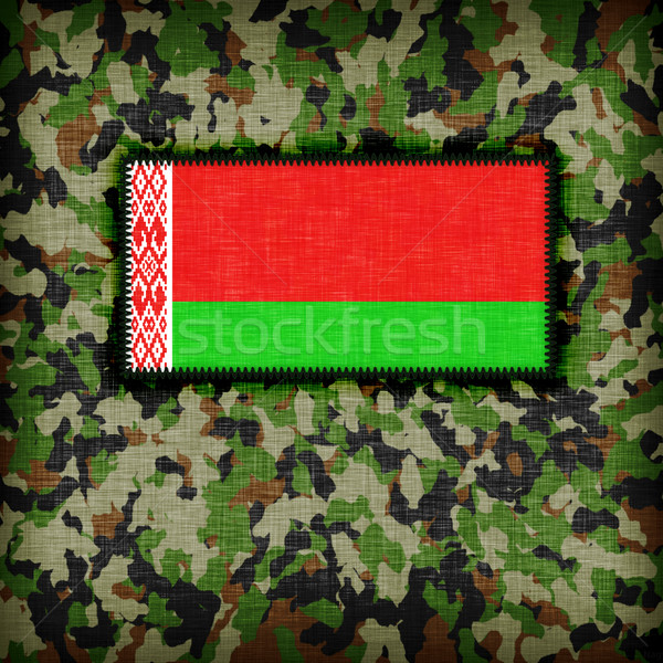 Amy camouflage uniform, Belarus Stock photo © michaklootwijk