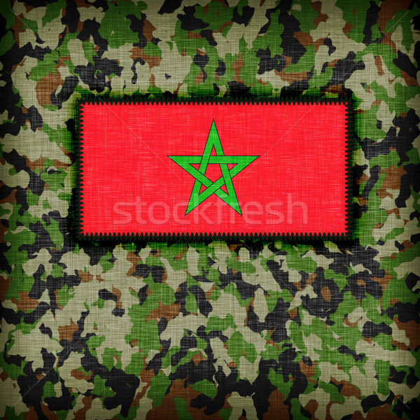 Amy camouflage uniform, Morocco Stock photo © michaklootwijk