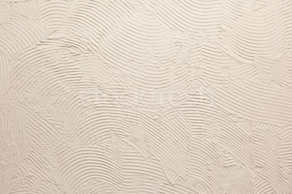Old grey stucco wall Stock photo © michaklootwijk