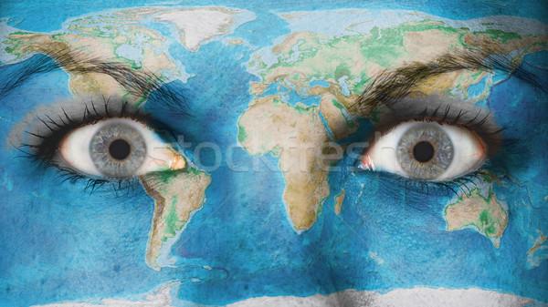 Women eye, close-up Stock photo © michaklootwijk