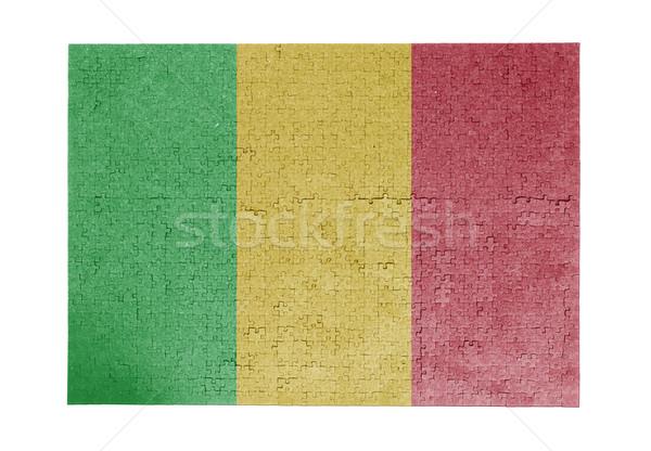 Large jigsaw puzzle of 1000 pieces - Mali Stock photo © michaklootwijk