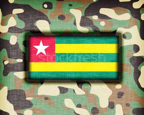 Uniforme Togo bandiera abstract verde Foto d'archivio © michaklootwijk