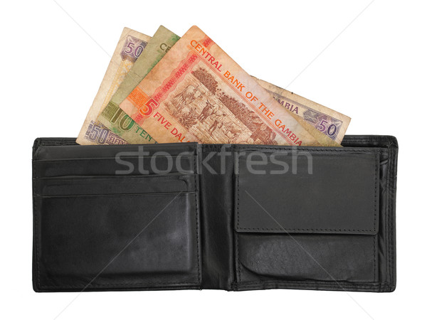 Gambian dalasi bank notes Stock photo © michaklootwijk