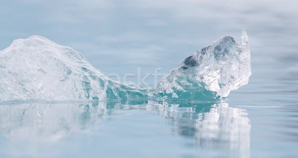 Close-up of melting ice in Jokulsarlon - Iceland Stock photo © michaklootwijk