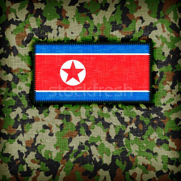 álca egyenruha észak zászló textúra absztrakt Stock fotó © michaklootwijk
