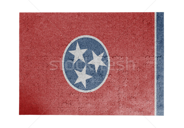 1000 pièces Tennessee pavillon Photo stock © michaklootwijk