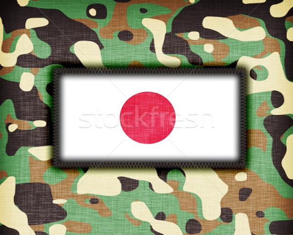 Amy camouflage uniform, Japan Stock photo © michaklootwijk