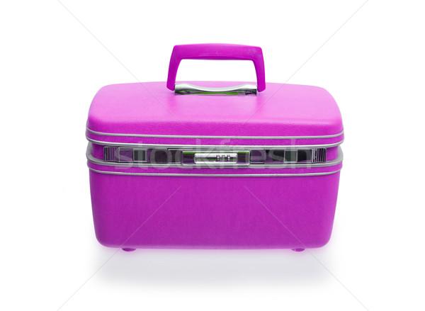 Vintage beaty case or make-up case Stock photo © michaklootwijk