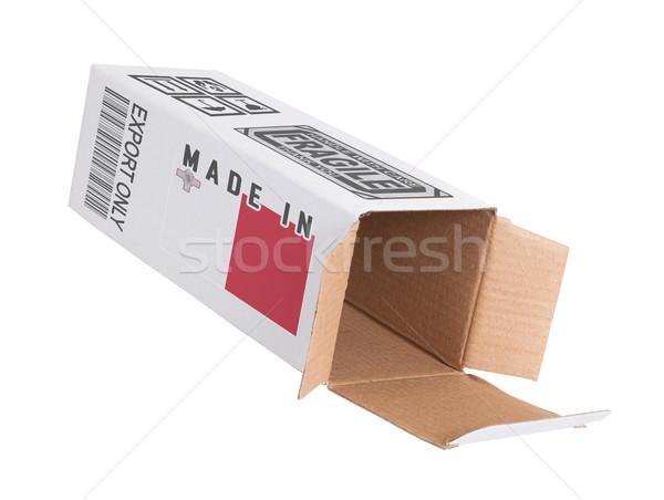 Eksport produktu Malta papieru polu Zdjęcia stock © michaklootwijk