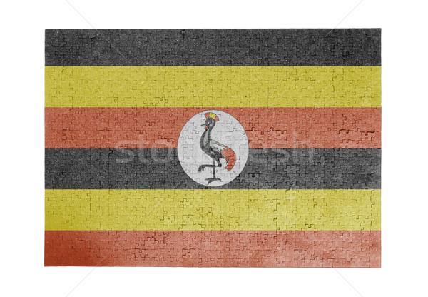 Large jigsaw puzzle of 1000 pieces- Uganda Stock photo © michaklootwijk