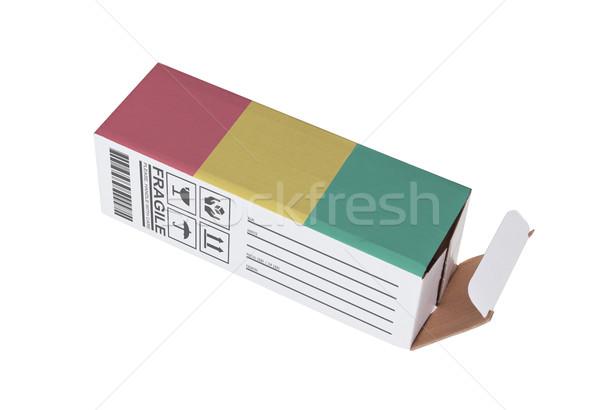 Exporteren product Guinea papier vak Stockfoto © michaklootwijk