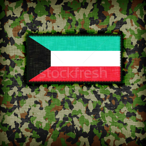 Amy camouflage uniform, Kuwait Stock photo © michaklootwijk