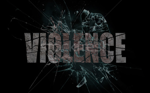 Concept of violence or crash, violence Stock photo © michaklootwijk
