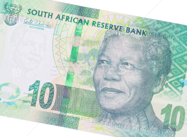 Ten South African Rand Stock photo © michaklootwijk