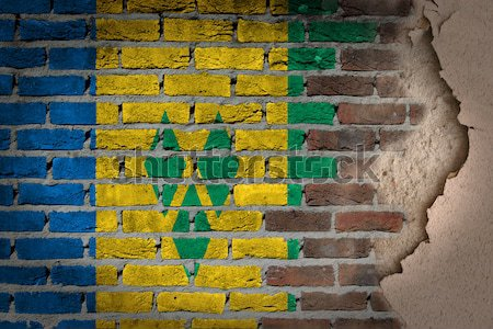 Dark brick wall - LGBT rights - Saint Vincent and the Grenadines Stock photo © michaklootwijk