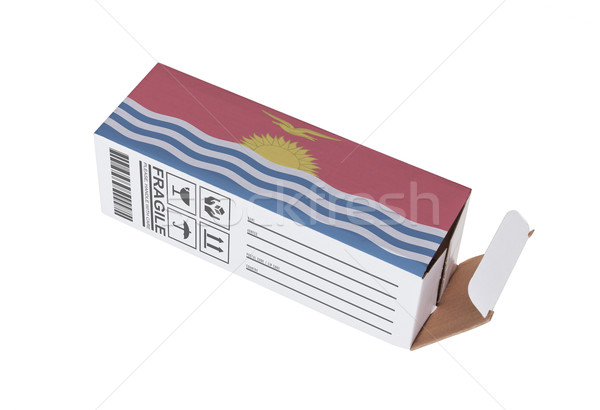 Exportar producto Kiribati papel cuadro Foto stock © michaklootwijk