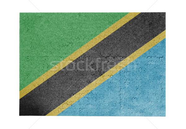 ジグソーパズル 1000年 ピース タンザニア フラグ ストックフォト © michaklootwijk