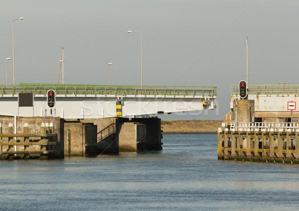моста известный голландский свет синий путешествия Сток-фото © michaklootwijk