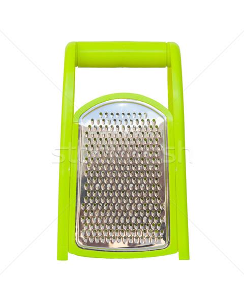 Green plastic grater Stock photo © michaklootwijk
