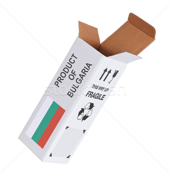 Concept of export - Product of Bulgaria Stock photo © michaklootwijk