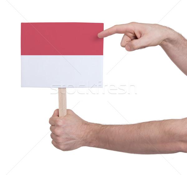 стороны небольшой карт флаг Индонезия Сток-фото © michaklootwijk