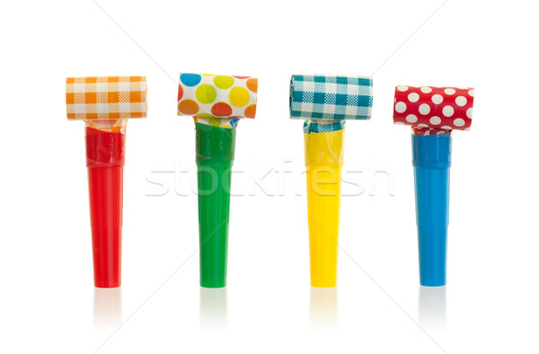 Air whistles isolated Stock photo © michaklootwijk